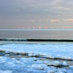 Nordstrand - Offshore - Winterabendsonne