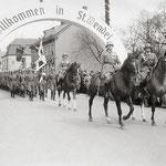 Einzug des Infanterie-Regiments 70 am 2. Mai 1938 [© Sammlung Elmar Landwehr]
