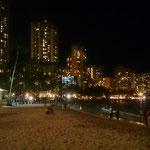 Am Strand von Waikiki