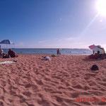 An unserem Kaimana Beach