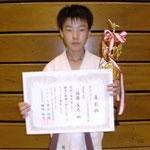 ルーキー・トーナメント重量級 優勝:佐藤主大