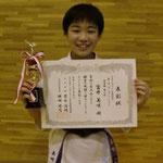 ガールズ・トーナメント重量級 第三位:富井美咲
