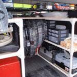 発電機  エアコンプレッサー 搭載 タイヤチューブ その他 を装備!