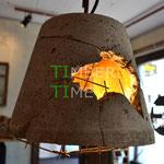 Betonschirm Lampe