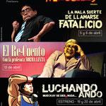 Afiche General de HUMOR A LO MUECKAY. Diseño: Eduardo Correa
