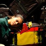 Cindy Cantos en 'Jugo de Amargos Adioses'. Foto: Joshua Degel