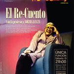 El Re-Cuento con Norma Lixta. Diseño: Eduardo Correa Foto: Amaury Martínez