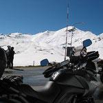 Am Umbrailpass 2501m - Blick hinauf zum Stilfserjoch