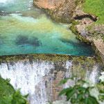 Wasserfall in Ukanc