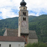 Die Kirche in Glurns ist leider verschlossen.
