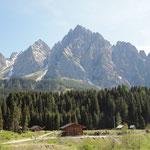 Berglandschaft vor Sexten