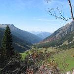 Blick nach Vorarlberg.
