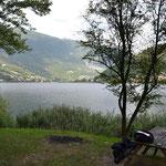 Rast am Lago di Endine