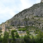 Burganlage in Entreveaux