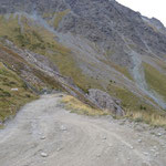 Richtung Col Sommeiller