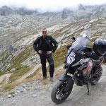 KTM mit Fahrer :-)