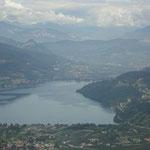 Blick auf den Caldonazzosee