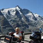 Franz Josefs Höhe - Großlockner im Hintergrund
