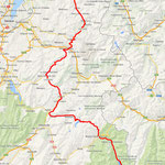 Routes des Grandes Alpes - Teil 1 am Tag 1