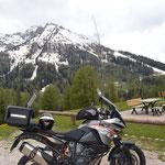 Richtung Passo Carezzo