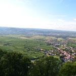 Blick vom Stift Göttweig in die Wachau