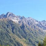 Herrliches Wetter und tolle Bergwelt