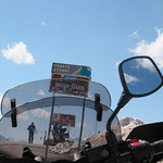 Abstecher hinauf auf den Passo Giau, 2236m