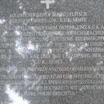 Soldatenfriedhof bei Bovec