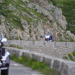 Goldwings am Col de la Cayolle