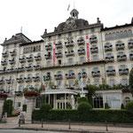 Grand Hotel - nicht unsere Unterkunft :-)