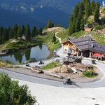 Passo Manghen - Blick nach Norden