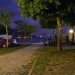 Abendstimmung am Campingplatz