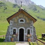 Kapelle am Col des Aravis