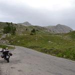 Col de la Cayolle - Kettenpanne