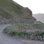 Südseite Col de la Bonette