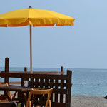 Albenga - einsamer Strand