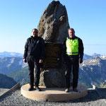 Am Col de la Bonette, 2.802 m