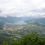 Blick von der Kaiserjägerstraße auf den Caldonazzo- und Levicosee