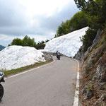 Schnee am Monte Baldo