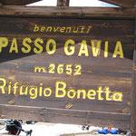 Am Gaviapass - 2652m