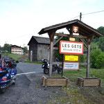 Col de Get, der 1. Pass der Route des Grandes Alpes