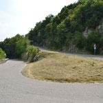 Hinauf zum Monte Grappa