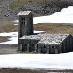 Steinkapelle am Col d´Iseran