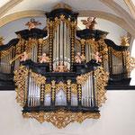 Orgel in der Freistädter Kirche