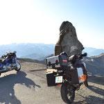 KTM am Col de la Bonette