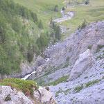 Am Weg zum Col de la Bonette