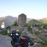 Col de Vars am Morgen