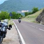Auffahrt zum Monte Baldo nach Mori