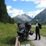 Vom Berninapass wieder im Tal angekommen.