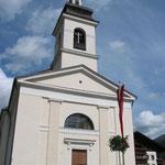 Kirche in St. Jakob im Defreggen